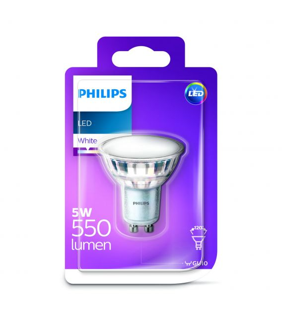 LED LEMPA 5W GU10 120' 871869675039