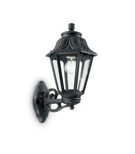Sieninis šviestuvas ANNA AP1 BIG Black 101491