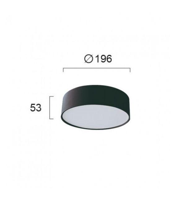 Lubinis šviestuvas JAXON Black Ø19,6 4183301