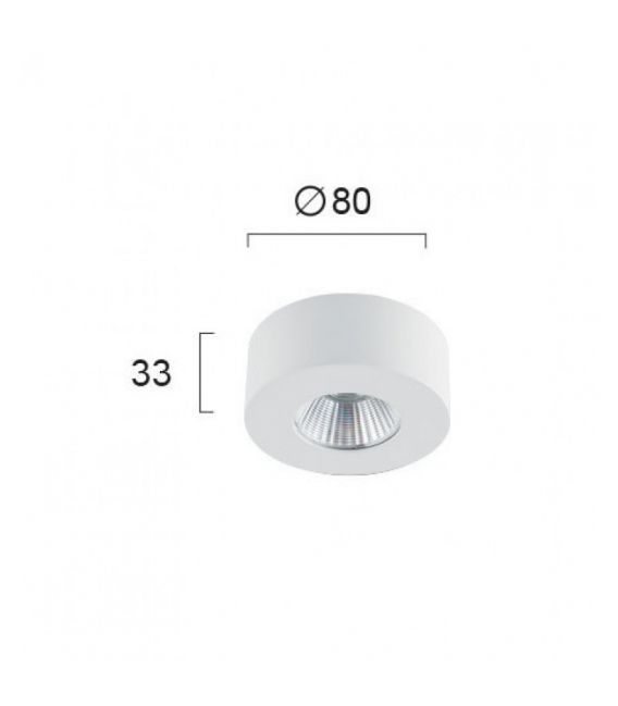 Lubinis šviestuvas FANI White 4183400