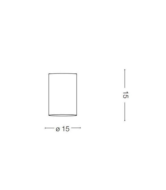 Lubinis šviestuvas MOOD PL1 Big Round Bianco 140872