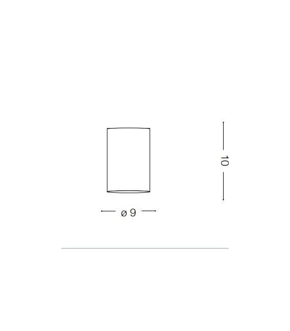 Lubinis šviestuvas MOOD PL1 Small Round Bianco 140841