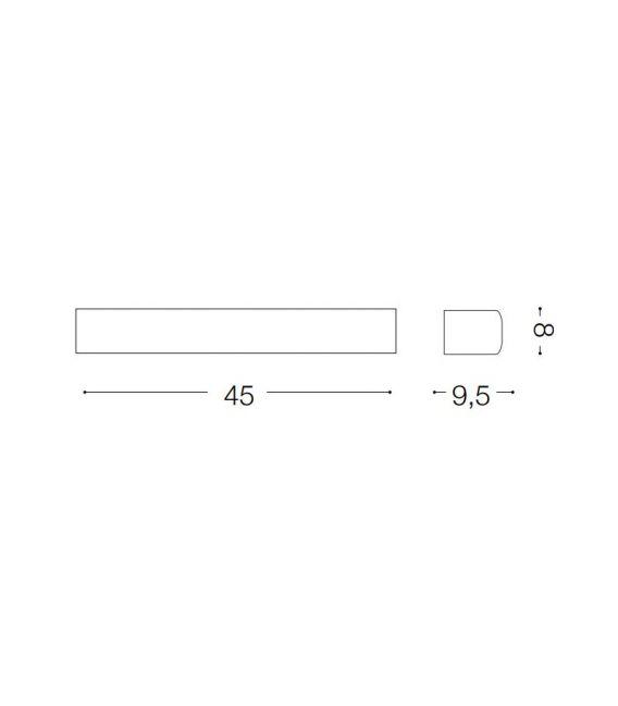 Sieninis šviestuvas ANDROMEDA AP2 Antracite 092355
