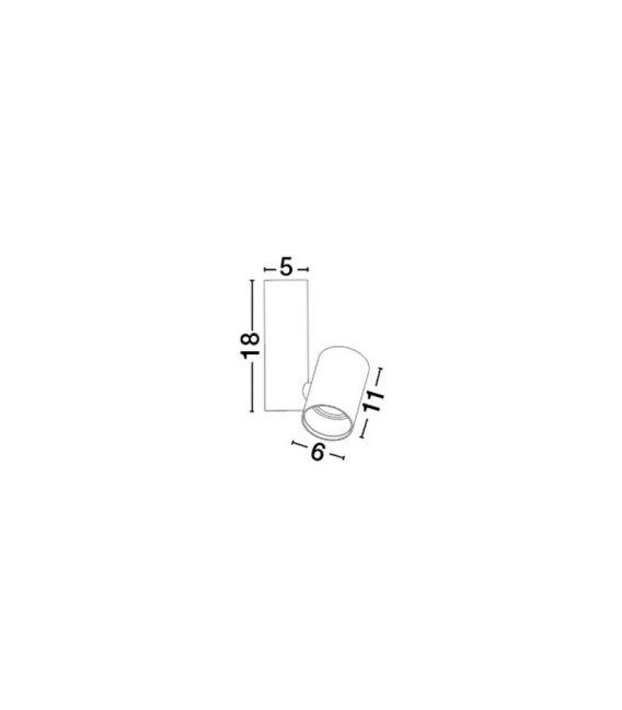 Lubinis šviestuvas BERNARDO 18 White 7409002