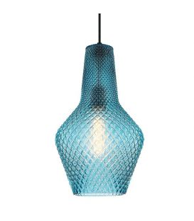 Pakabinamas šviestuvas SOLETO Blue Ø25 4169301