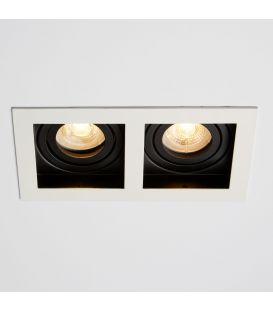 Įmontuojamas šviestuvas GRID 2 Black DL-GRID2WB