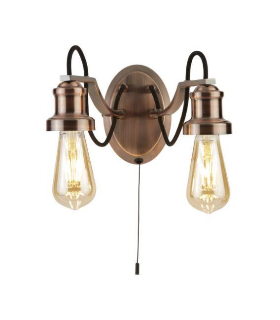 Sieninis šviestuvas OLIVIA Copper 1062-2CU