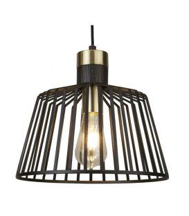 Pakabinamas šviestuvas BIRD CAGE Ø30 9411BK