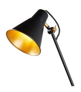 Sieninis šviestuvas WALL Black / Gold Small 6302BK