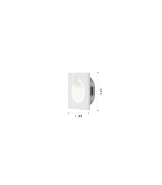 Įmontuojamas šviestuvas ZARATE LED White 96901