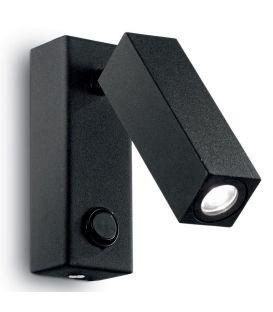 Sieninis šviestuvas PAGE LED AP1 Square Nero 142241