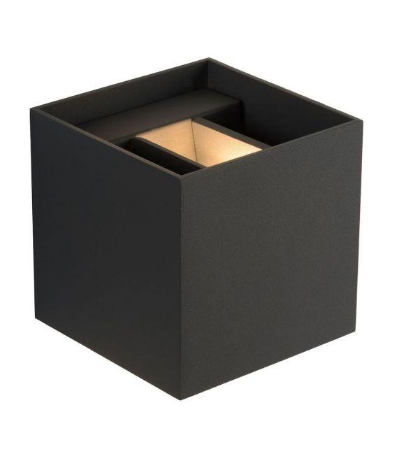 Sieninis šviestuvas XIO Square Grey 09217/04/36