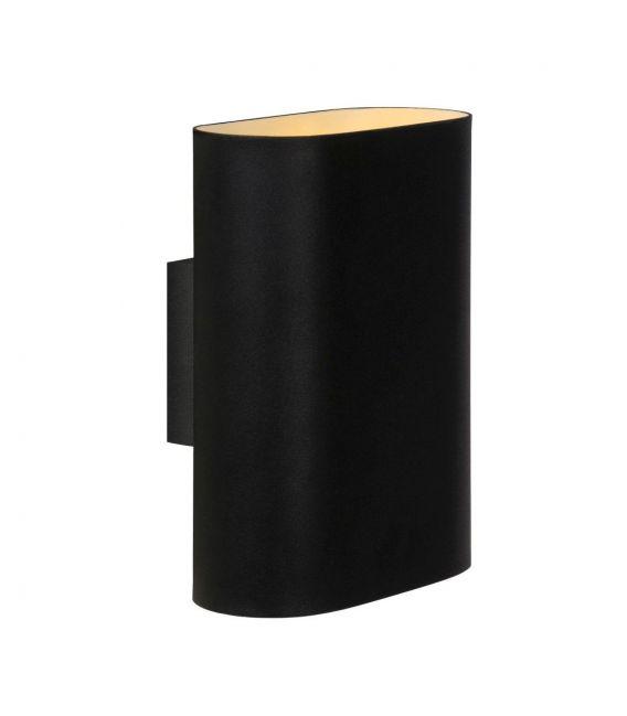 Sieninis šviestuvas OVALIS Black 12219/02/30