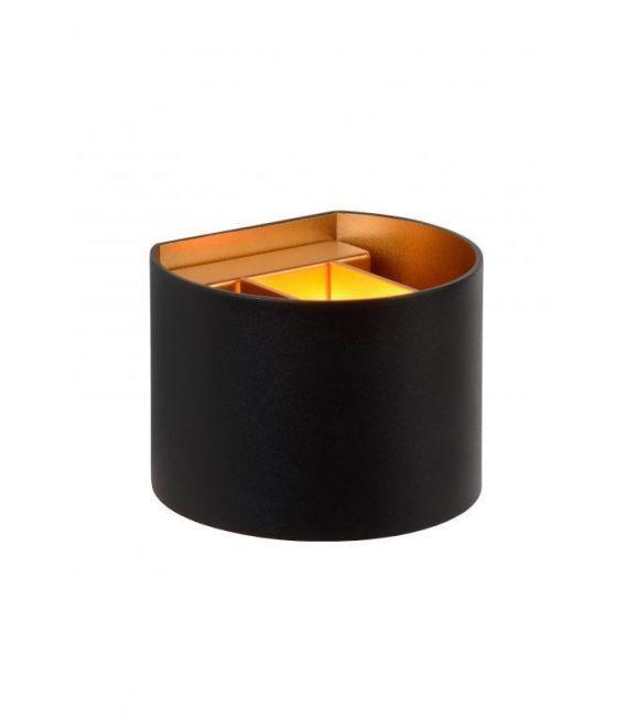 Sieninis šviestuvas XIO Black Round 09218/04/30
