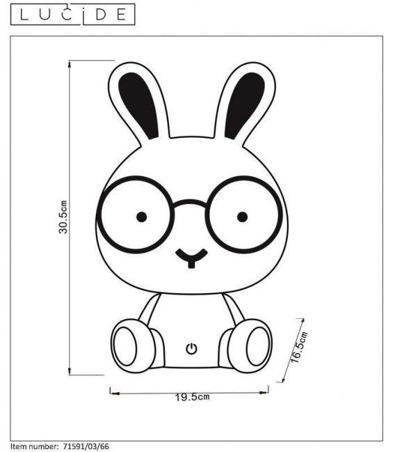 Stalinis šviestuvas DODO Rabbit 71591/03/66