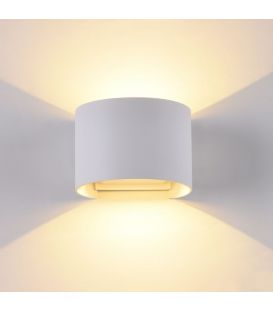 Sieninis šviestuvas FULTON LED Round IP54 White O573WL-L6W