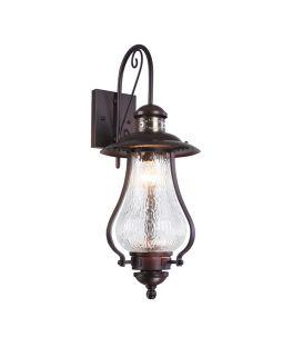 Sieninis šviestuvas LA RAMBLA IP44 S104-60-01-R