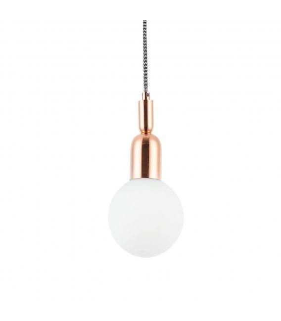 Pakabinamas šviestuvas BALL Pink Gold MOD267-PL-01-RG