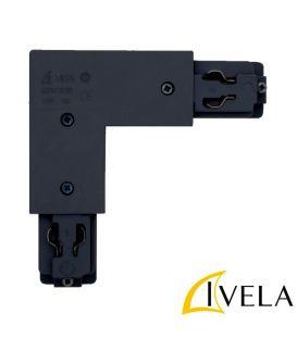 Bėgelio LKM L formos sujungimas Black 7655-10-W30