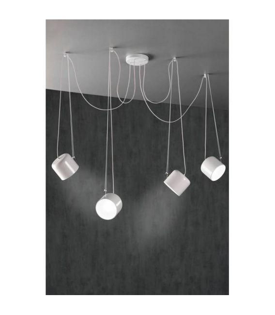 Pakabinamas šviestuvas PACO 4 White 26850/4TB