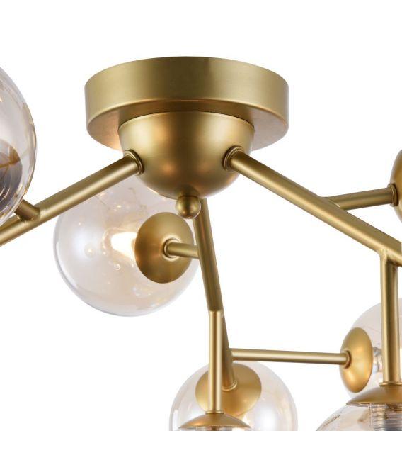 Lubinis šviestuvas DALLAS Ø60 Gold MOD545PL-12G