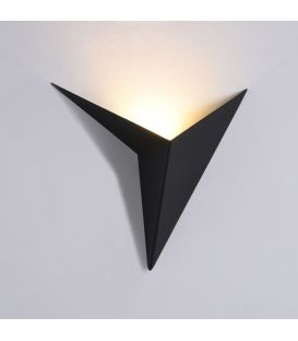 Sieninis šviestuvas TRAME LED 3W Black C808WL-L3B