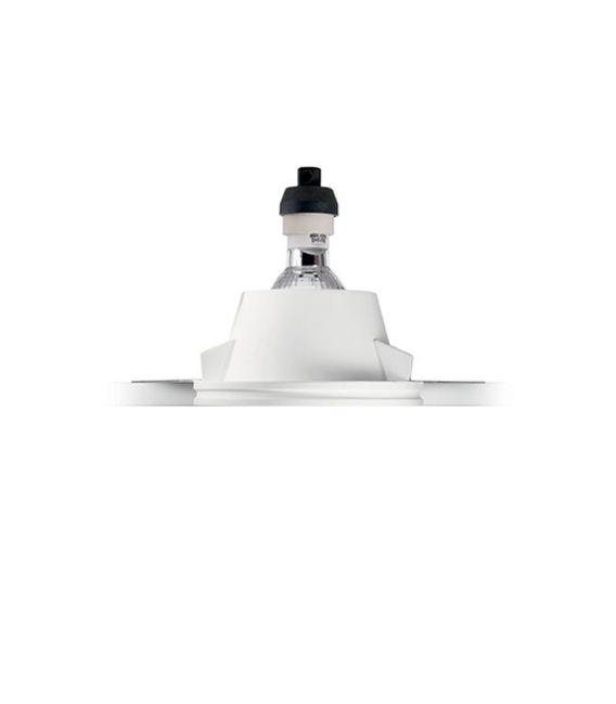 Įmontuojamas gipsinis šviestuvas SAMBA FI1 Square Glass 150116