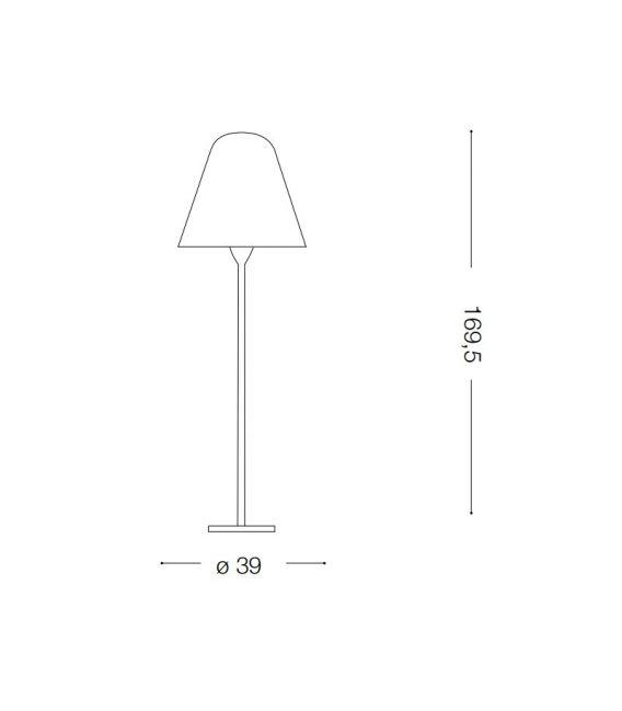 Pastatomas šviestuvas ITACA PT1 H169,5 180953