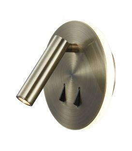 Sieninis šviestuvas CAYMAN LED Antique Brass 6082
