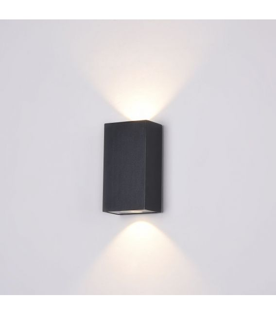 Sieninis šviestuvas TIMES SQUARE LED Rectangle White O581WL-L6B