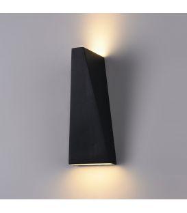 Sieninis šviestuvas TIMES SQUARE LED Trapeze 6W Black O580WL-L6B