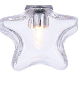 Pakabinamas šviestuvas STAR Small Transparent MOD246-PL-01-TR