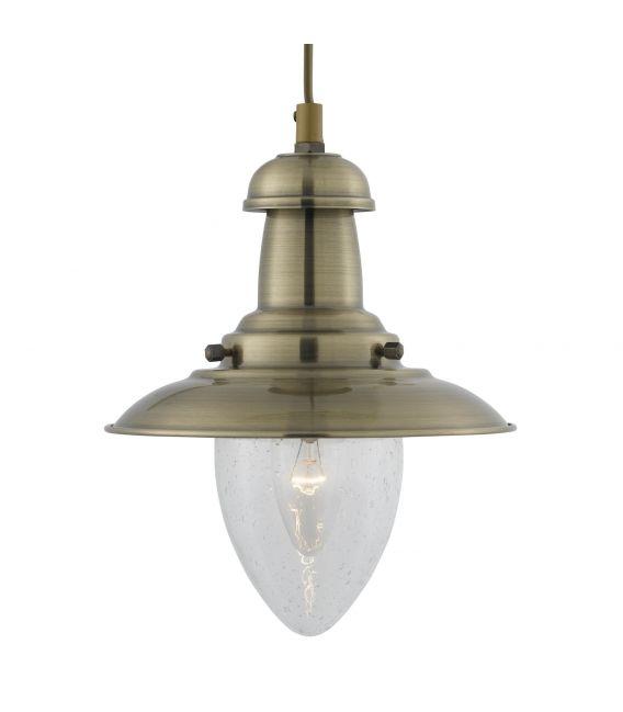Pakabinamas šviestuvas FISHERMAN Ø18cm 5787AB