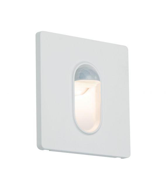 Įmontuojamas šviestuvas WALL LED 230V Square PIR 92923