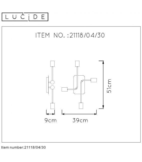 Lubinis šviestuvas LESTER 4 21118/04/30