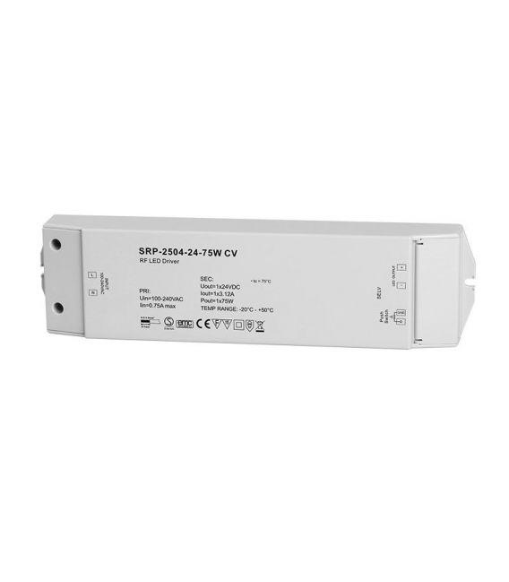 Impulsinis maitinimo šaltinis LED 12V 50W su įmontuotu imtuvu SRP-2504-12-50