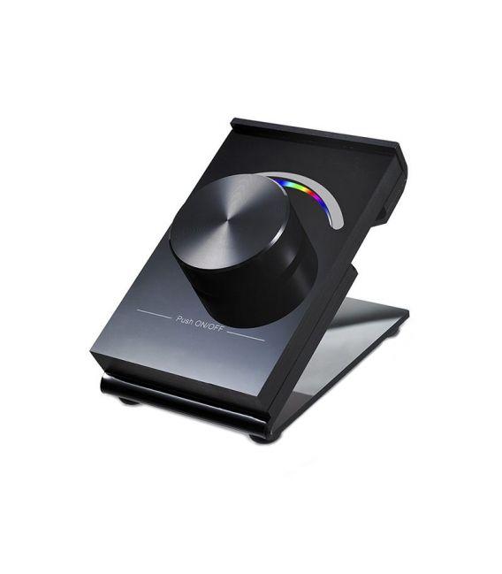 LED juostų valdymo sistemos pastatomas RGB valdiklis SR-2836D-RGB