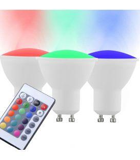 LED LEMPA 4W GU10 RGB 3 vnt. 10687