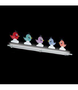 5,4W LED Sieninis šviestuvas SPARINO 96707