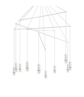 Pakabinamas šviestuvas POP SP10 Bianco 186801