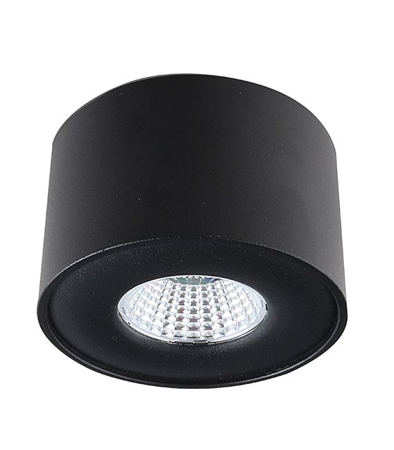 5W LED Lubinis šviestuvas Lamparas Black Ø9 LC1400-BK