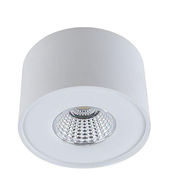 5W LED Lubinis šviestuvas Lamparas White Ø9 LC1400-W