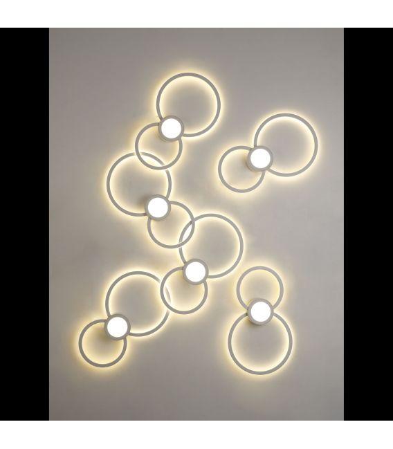 24W LED sieninis šviestuvas MURAL Round 6230