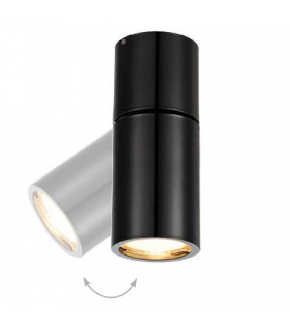 Lubinis kryptinis šviestuvas Lamparas Black Ø6.3 NC1800-M-YLD