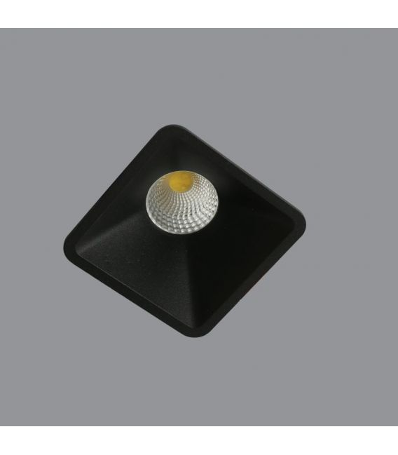 Įmontuojamas šviestuvas Aros Black NC2152SQ-FBK