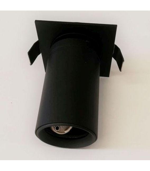 Įmontuojamas šviestuvas Lamparas Black NC2156-GU10-