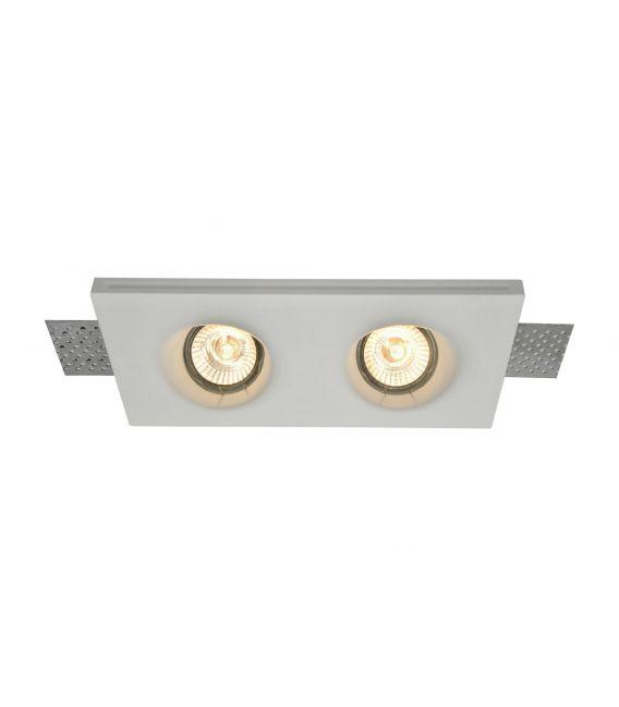 Įmontuojamas šviestuvas GYPS MODERN 2 DL002-1-02-W