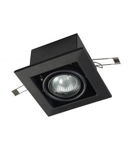 Įmontuojamas šviestuvas METAL MODERN Black DL008-2-01-B