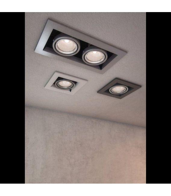 Įmontuojamas šviestuvas METAL MODERN White DL008-2-01-W