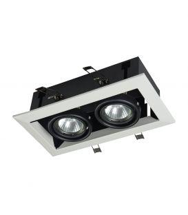 Įmontuojamas šviestuvas METAL MODERN 2 White DL008-2-02-W